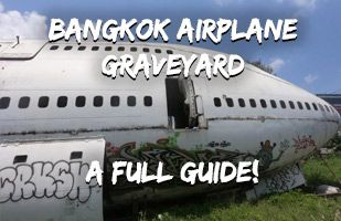 Bangkok Airplane Graveyard - Everything You Need To Know Including How To Find It And Who To Pay!