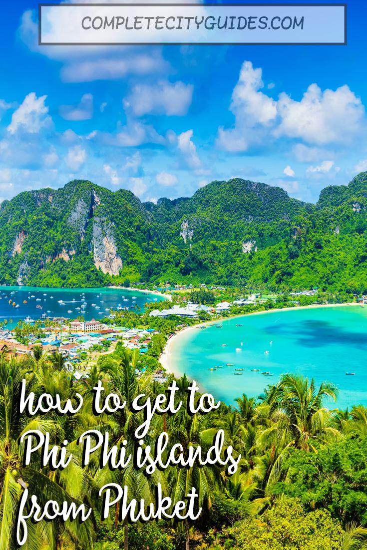How To Get From Phuket to Phi Phi (Thailand)