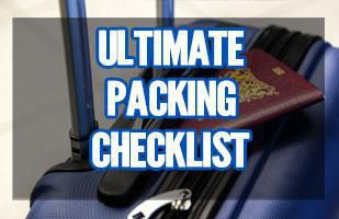 Ultimate Packing List for Travel (Print this checklist out before packing for your next trip)