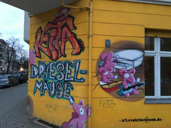 Berlin: A city of nice graffiti