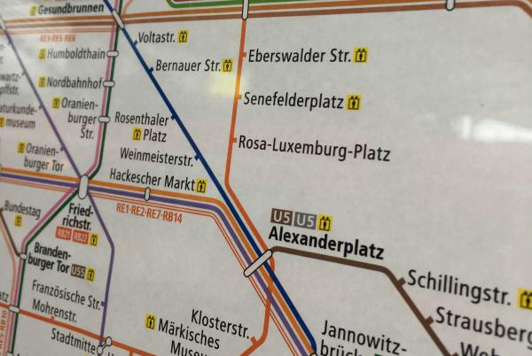 Berlin Underground Map