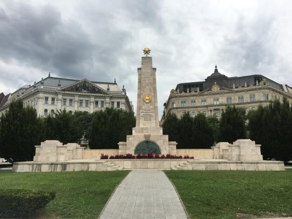 Soviet Monument in Budapest