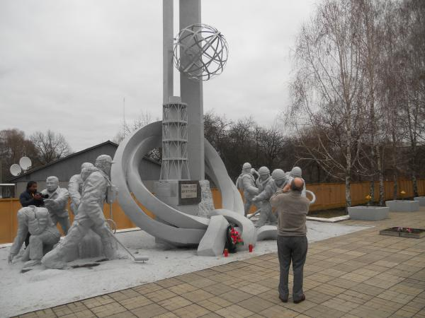 Chernobyl Fire Station Monument
