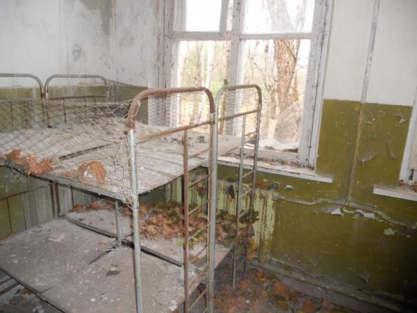 More abandoned beds