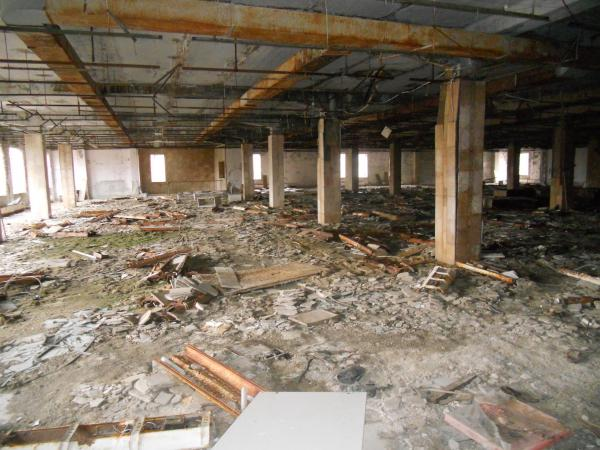 Abandoned Super market