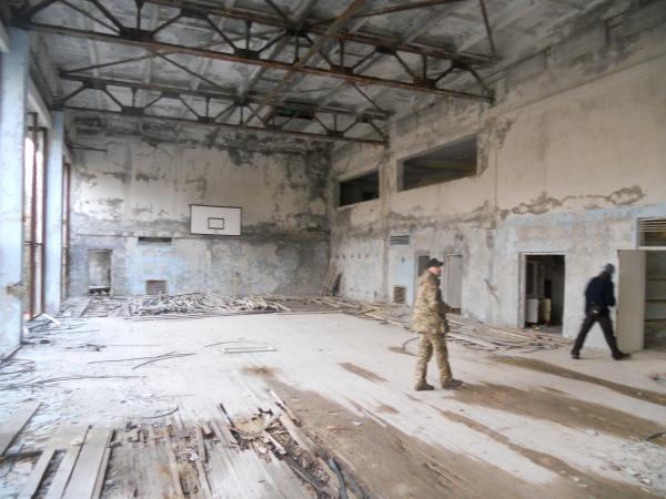 Chernobyl - Basketball Gym next to the swimming pool