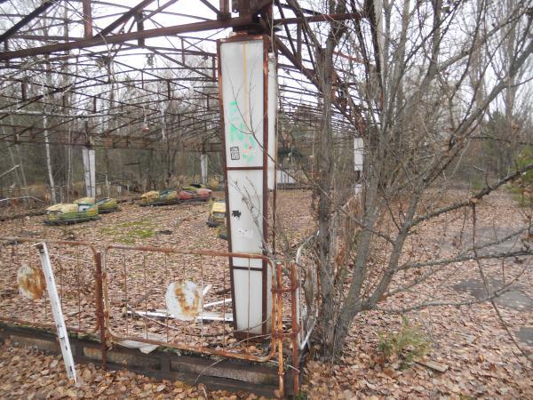 Chernobyl Bumper cars ride