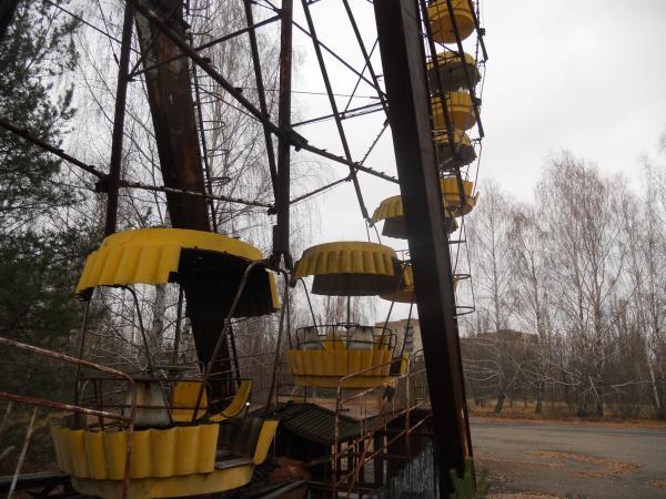 Chernobyl Ferris Wheel up close