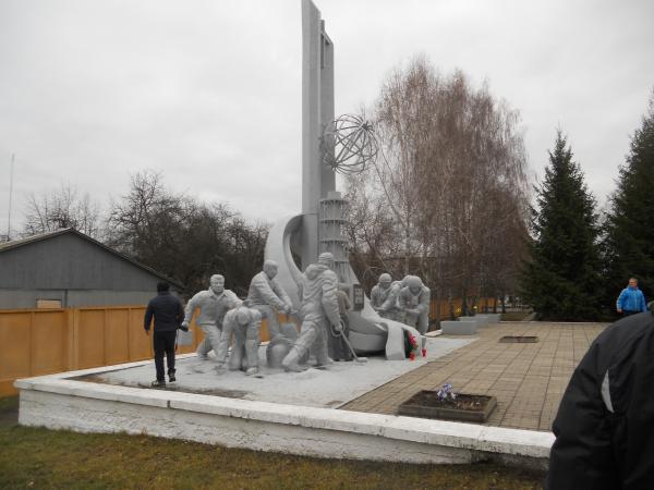 Chernobyl Firefighter Monument