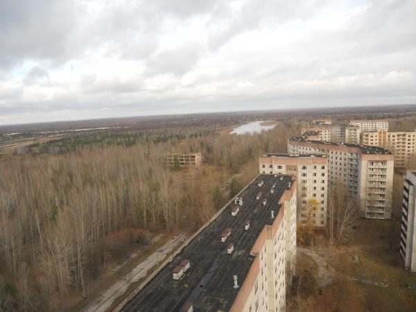 Chernobyl - from a roof