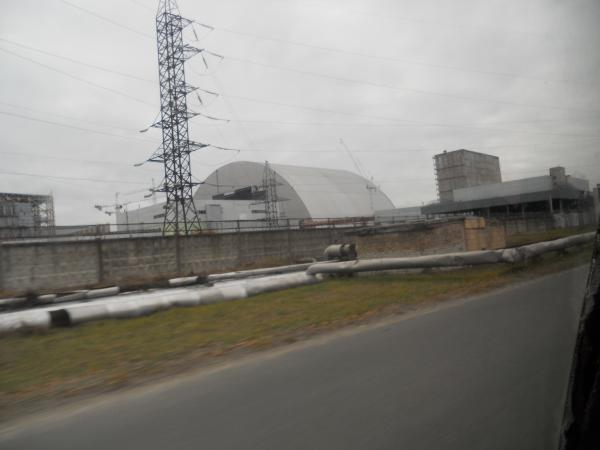 Our Chernobyl Tour Photos Near The Power Station