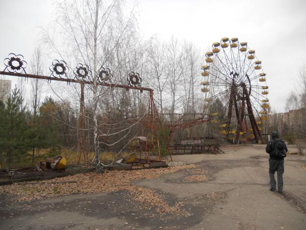 Chernobyl Theme Park (bumper cars and ferris wheel)