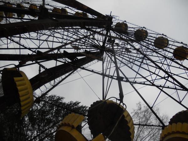 Chernobyl Theme Park - Ferris Wheel view
