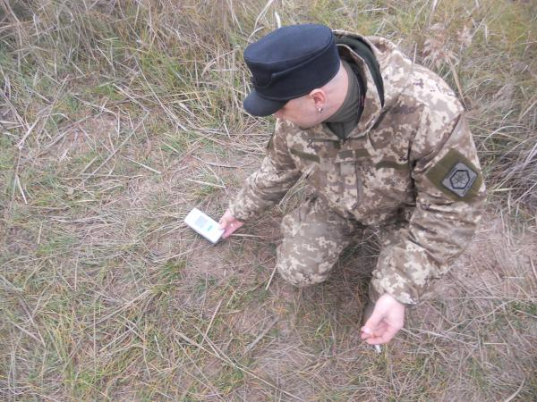 Testing for radioactive hotspots...