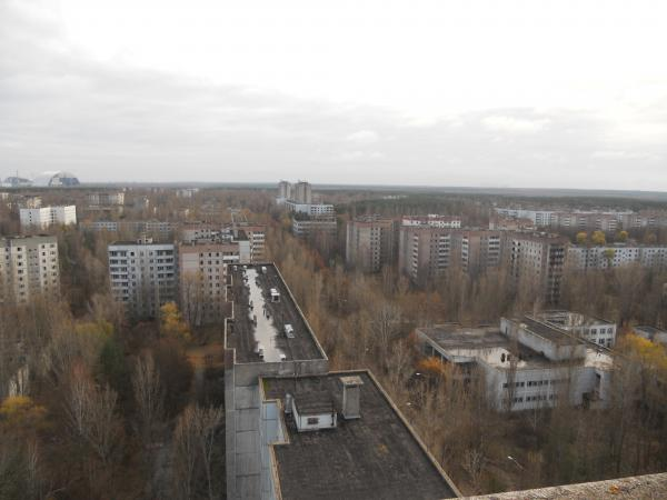 From top of the roof