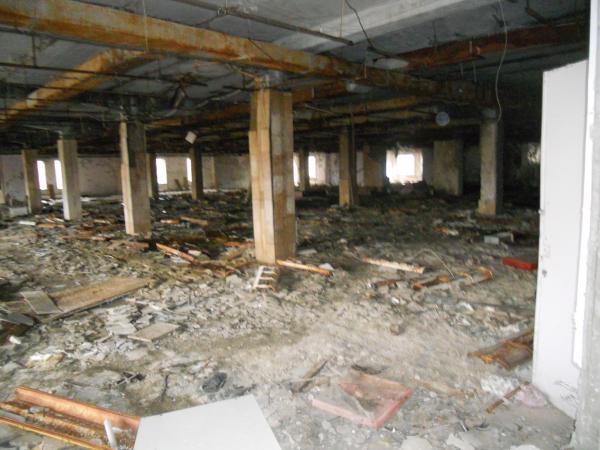 Pripyat abandoned super market