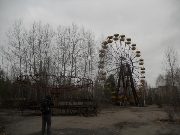 Pripyat abandoned theme park