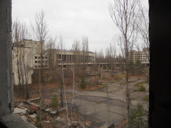 Pripyat buildings