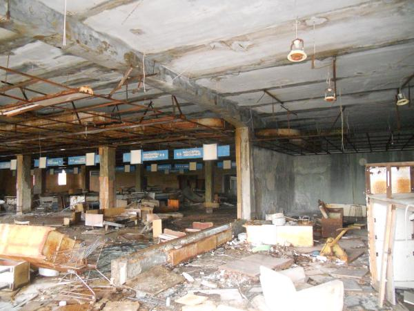 Pripyat (close to Chernobyl Power Plant) Abandoned Supermarket