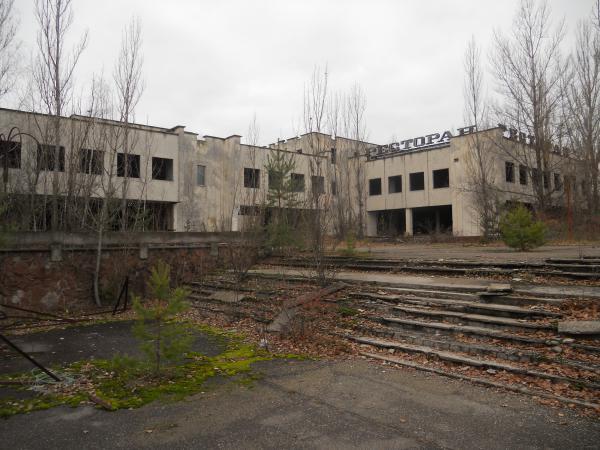 Buildings in Pripyat