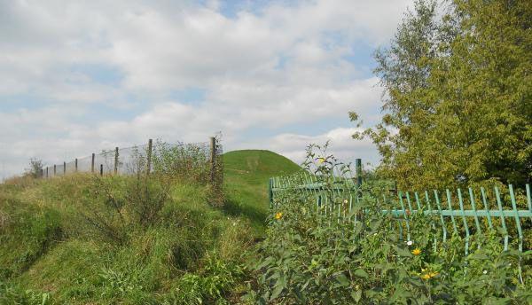 Looking back at Krakus mound