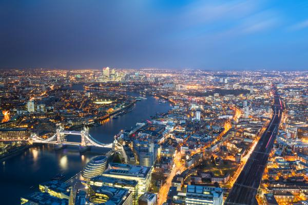 London Arial View