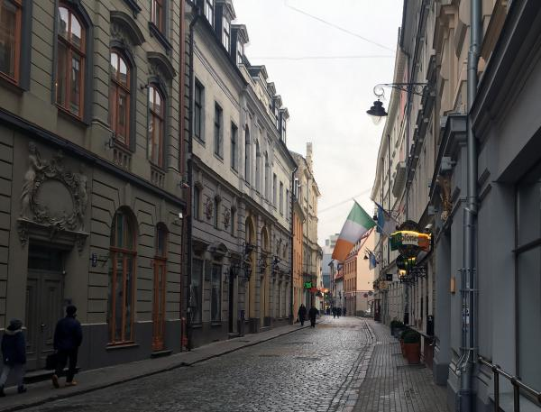 Irish pub in Riga