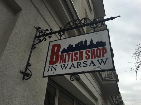 The British shop in Warsaw