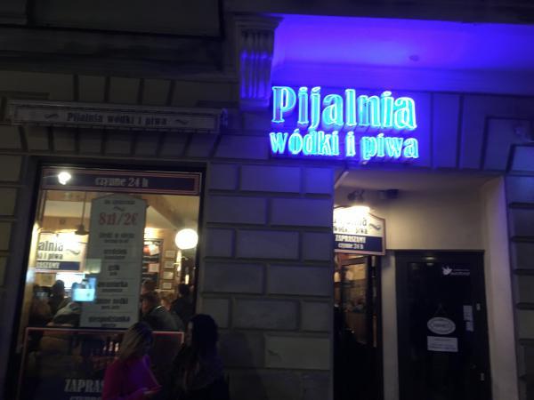 Pijalnia bar on Nowy Swiat