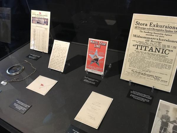 Artifacts from the Titanic