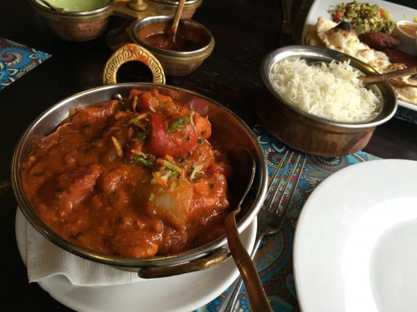 Indian restaurant in Warsaw