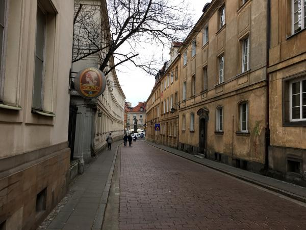 Backstreets near the Old Town area