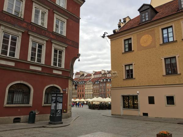 The Old Town Market in Warsaw