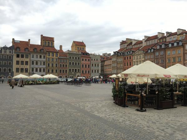 Inside the Old Town Market Square