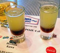 Chupa Chups shots in Pijalnia, Krakow