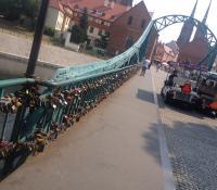 Wroclaw Love Bridge