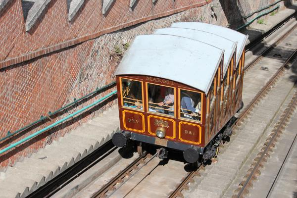 Budapest Castle Hill Funicular Cable Cars