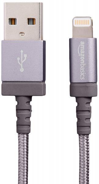 AmazonBasics Apple Certified Nylon Braided Lightning Cable Travel Gear Photo