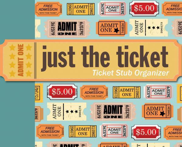 Just the Ticket: Ticket Stub Organizer Travel Gear Photo