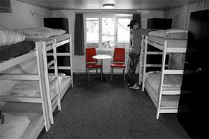 Hostels compared with Hotels