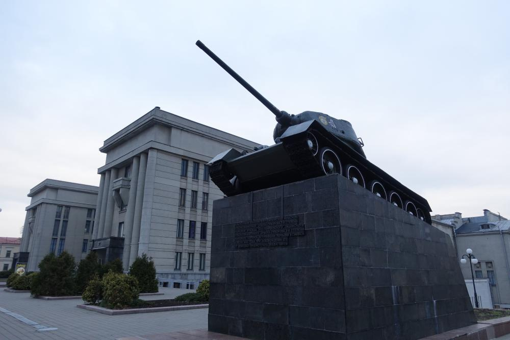 Monument to Soldiers Tank