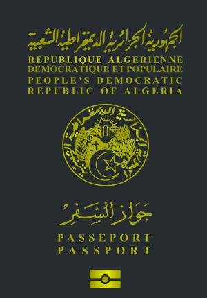Algerian passport