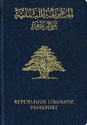 Lebanese passport