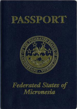 Micronesia passport