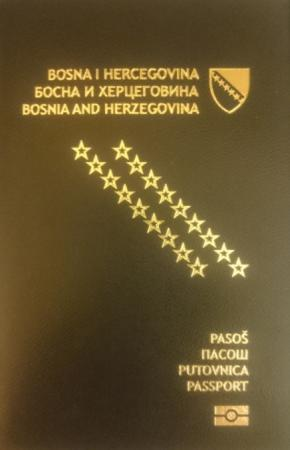 Bosnian passport