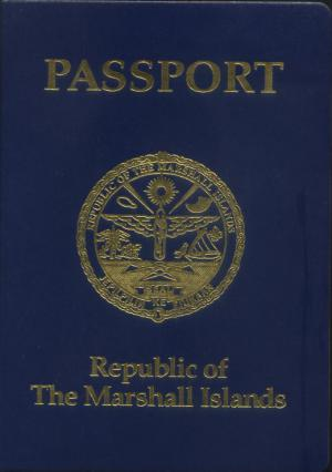Marshallese passport